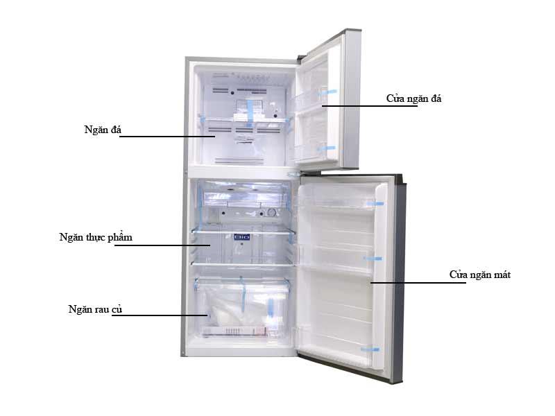 Tủ Lạnh Toshiba GR-M25VBZS 186 lít Inverter