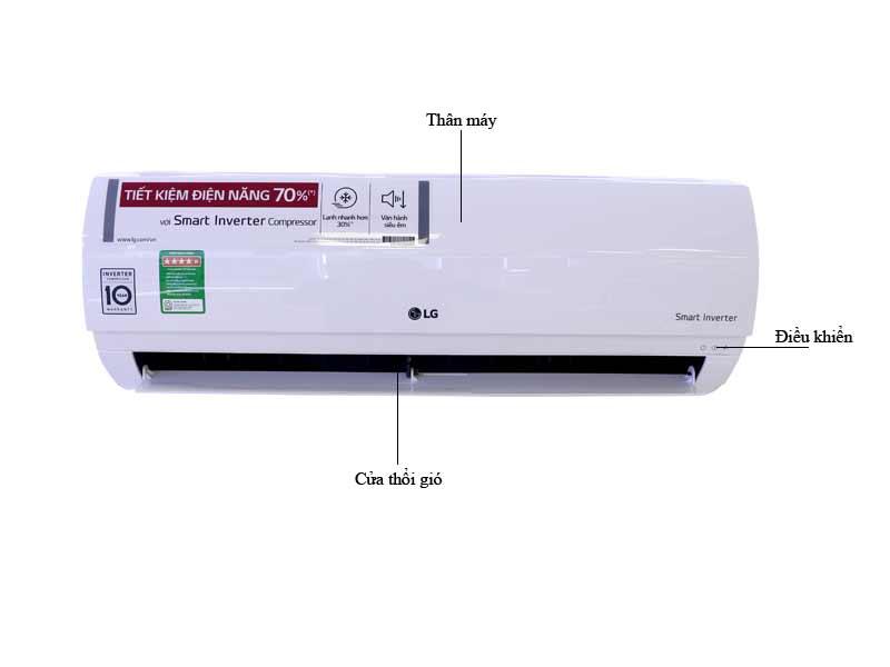 Điều Hòa 1 Chiều Inverter LG V10ENPN 9.000BTU