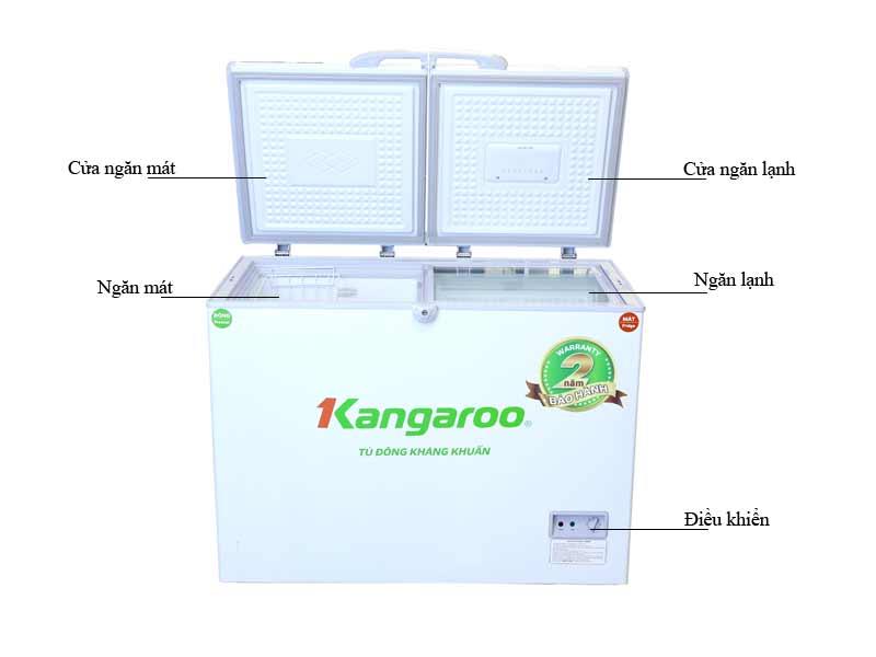Tủ Đông Kangaroo KG296C2 296L