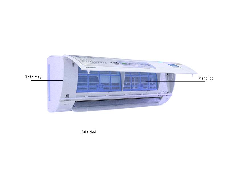Điều Hòa Panasonic 1 Chiều CU/CS-PU12TKH-8 12.000BTU Inverter