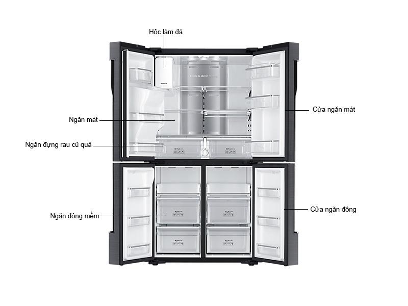 Tủ Lạnh Samsung 564 Lít RF56K9041SG/SV Inverter