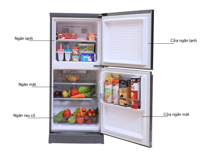 Tủ Lạnh Panasonic 135 Lít NRBJ158SSVN