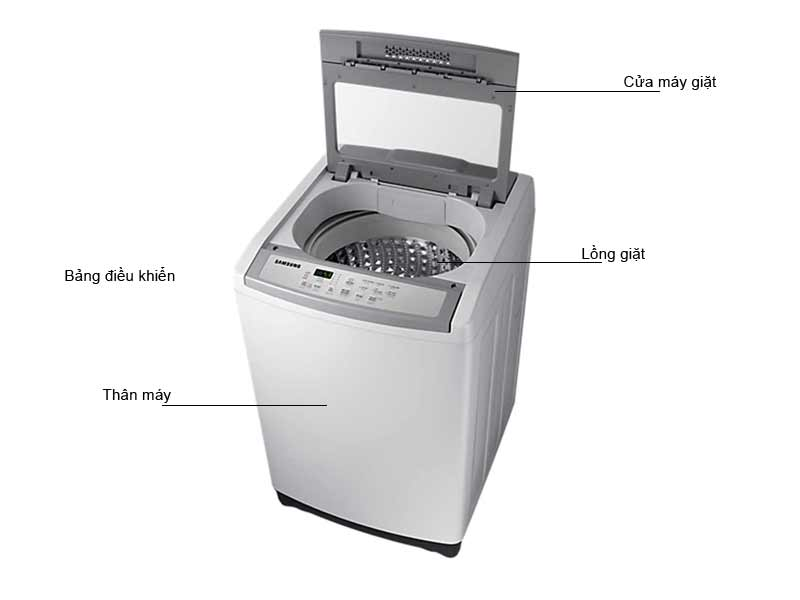 Máy Giặt Samsung 8.5 Kg WA85M5120SG/SV Xám
