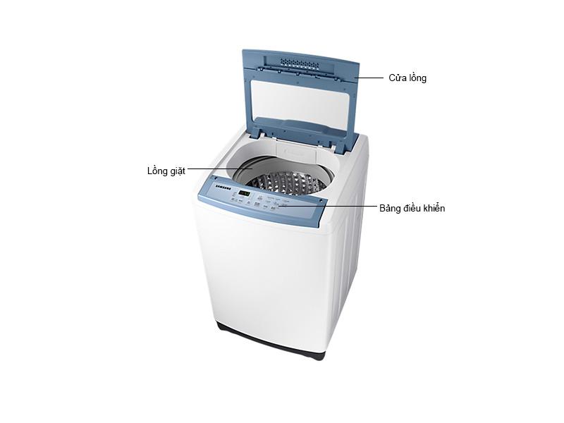 Máy Giặt Samsung 8.5 Kg WA85M5120SW/SV Trắng