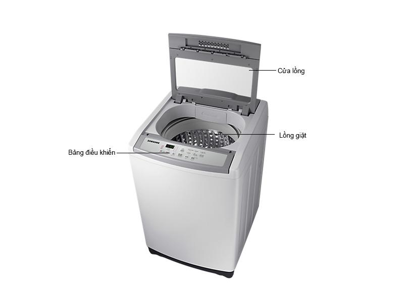 Máy Giặt Samsung 9.0 Kg WA90M5120SG/SV Xám