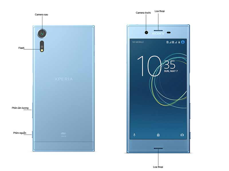Điện thoại di động Sony Xperia XZs G8232VN/B - Màu Đen