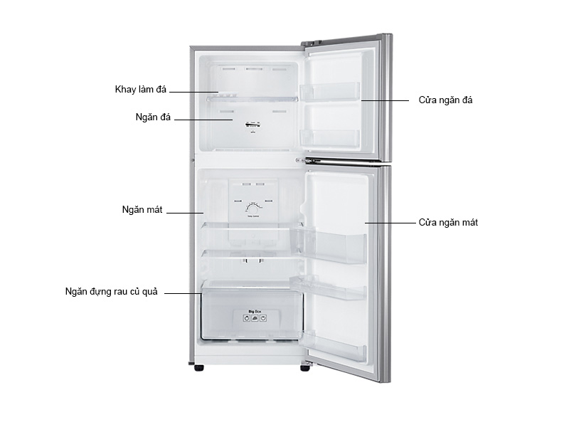 Tủ Lạnh Samsung 203 Lít RT20K300ASESV Inverter