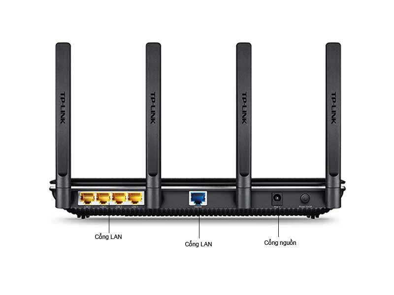 Router Gigabit băng tần kép không dây Archer C2600