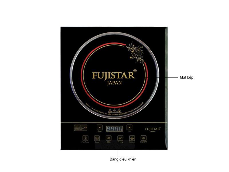 Bếp Hồng Ngoại Fujistar Earthen EUROHOME EIS008