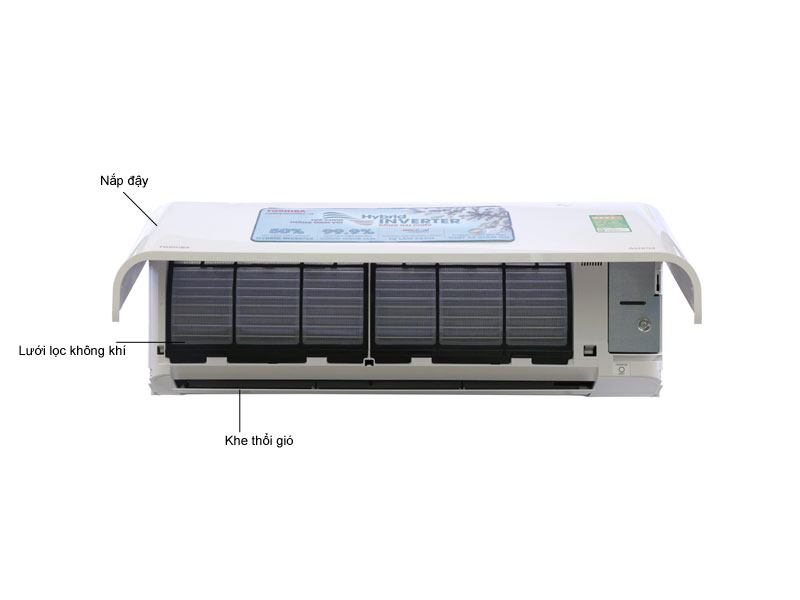 Điều Hòa Toshiba 1 Chiều Inverter  9.000BTU RASH10PKCVGV