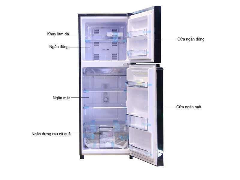 Tủ Lạnh Panasonic NR-BL308PKVN Inverter 271 Lít