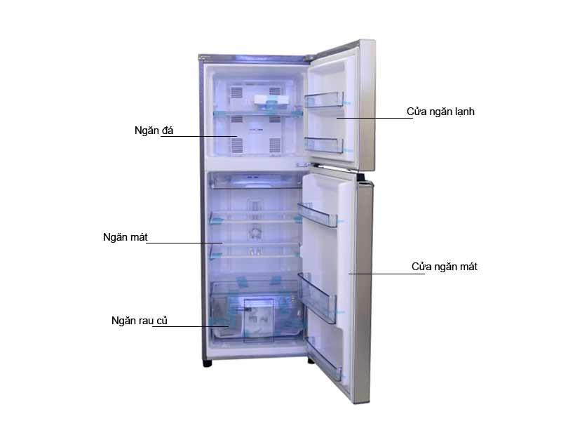 Tủ lạnh Panasonic NRBL268PSVN 238L