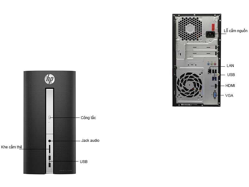 Máy Tính Đề Bàn HP Pavillion HP570P019L