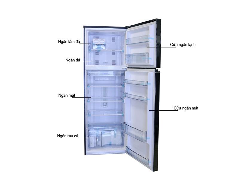 Tủ lạnh Panasonic 303 Lít NR-BL348PKVN  Inverter