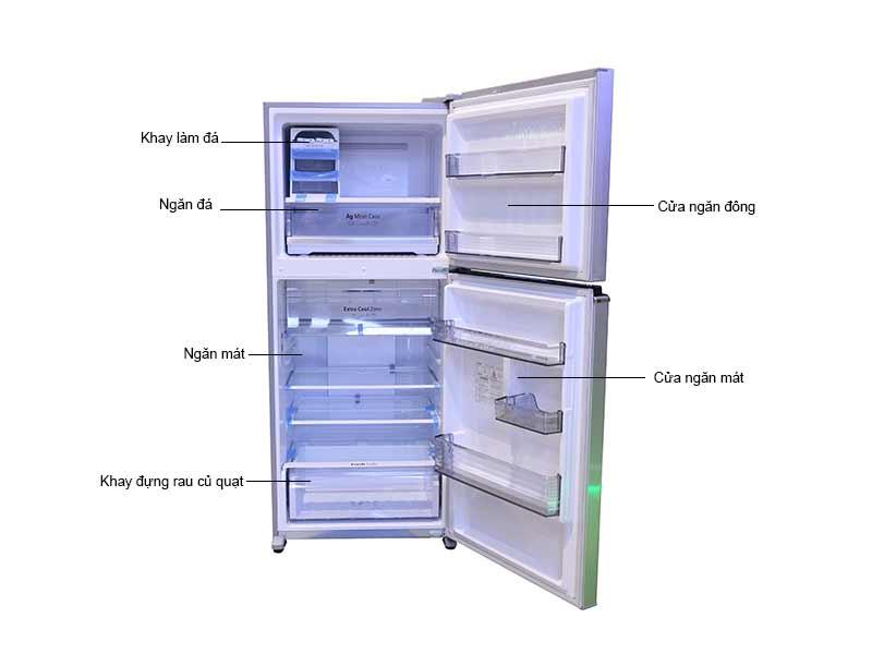 Tủ lạnh Panasonic NR-BD468VSVN 405lit