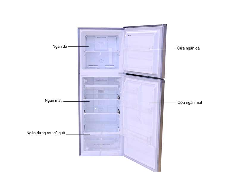 Tủ Lạnh Midea 239 Lít MRD294FWES