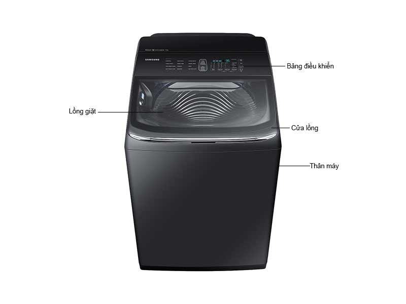 Máy Giặt Samsung WA18M8700GV/SV