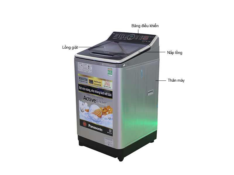 Máy Giặt Cửa Trên Panasonic 9 Kg NAF90V5LRV - Màu Bạc