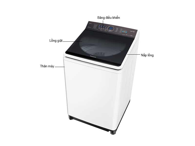 Máy Giặt Cửa Trên Panasonic 12.5 Kg NAF125A5WRV - Màu Trắng