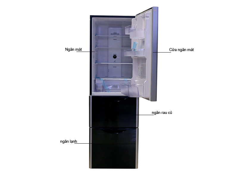 Tủ lạnh Hitachi SG32FPG (GBW) - 315lit