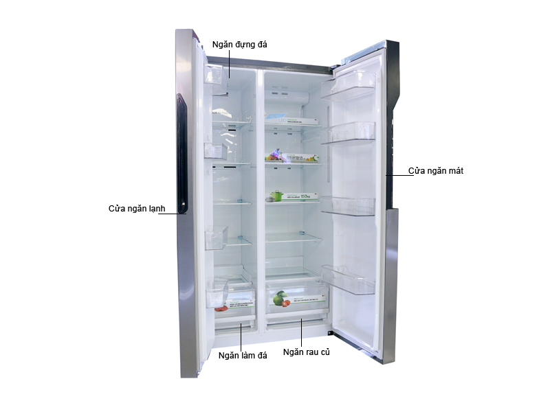 Tủ Lạnh LG Side By Side 679 Lít GR-B247JDS Inverter