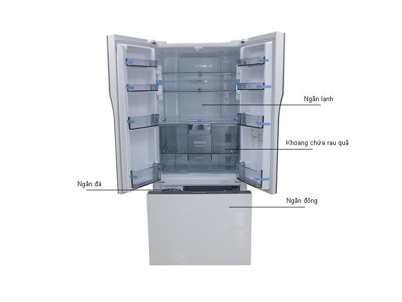 Tủ Lạnh Panasonic 491 Lít NRCY558GWVN Inverter