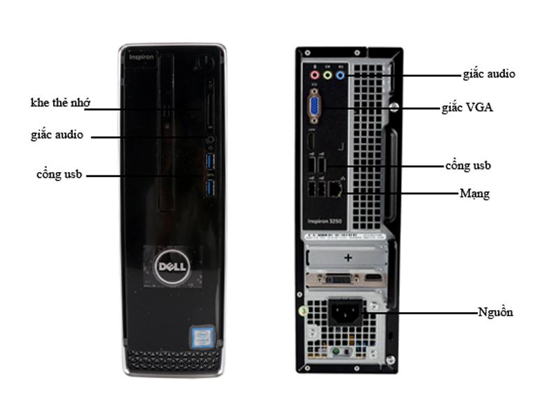 Máy tính để bàn Dell Inspiron 3250ST - W0CK43