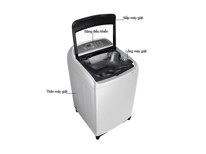 Máy giặt Samsung WA85J5711SG/SV 8,5 kg