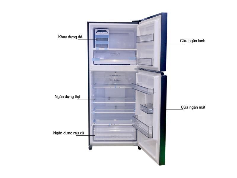 Tủ Lạnh Panasonic NR-BD418GKVN Inverter 363 Lit