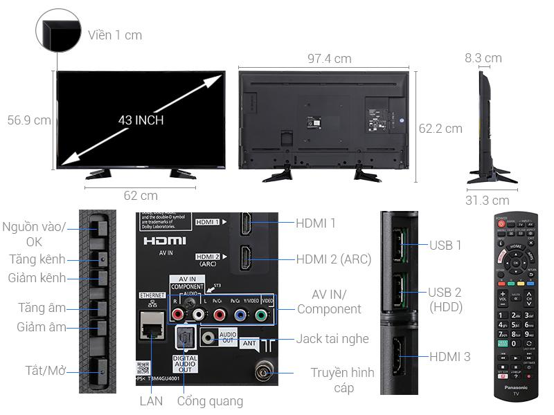 Tivi Led Panasonic 55 Inch TH55ES600V