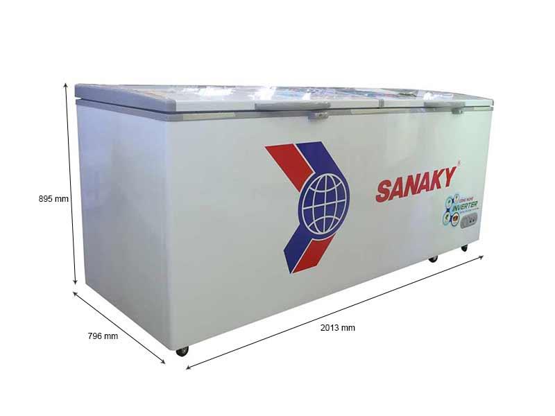 Tủ Đông Sanaky VH8699HY3 Inverter