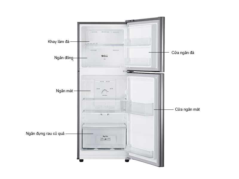 Tủ Lạnh Samsung 203 Lít RT19M300BGS/SV Inverter