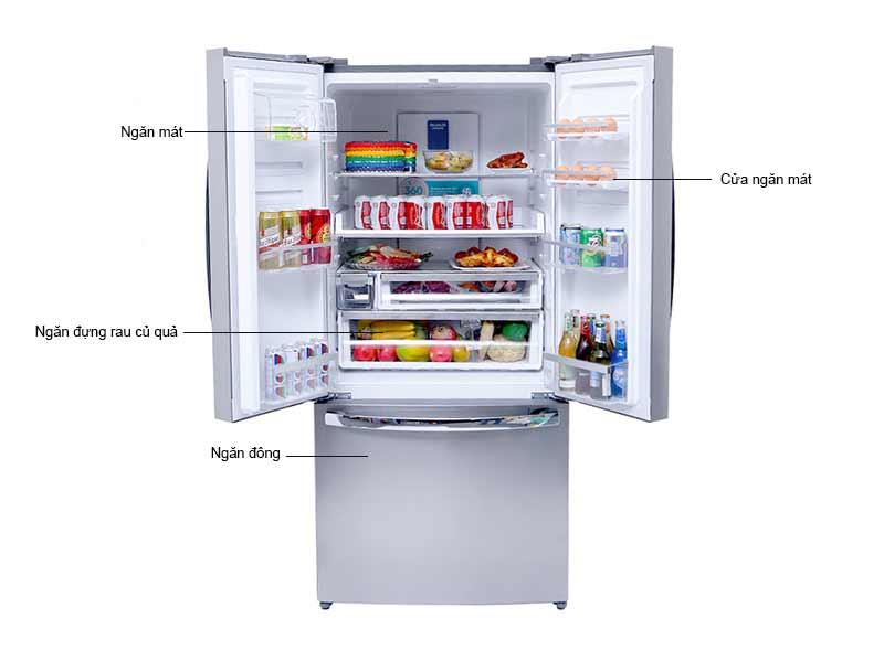 Tủ Lạnh Electrolux 474 Lít EHE5220AA Inverter