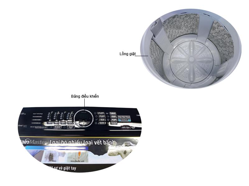 Máy Giặt Panasonic NA-F115A5WRV - 11.5kg
