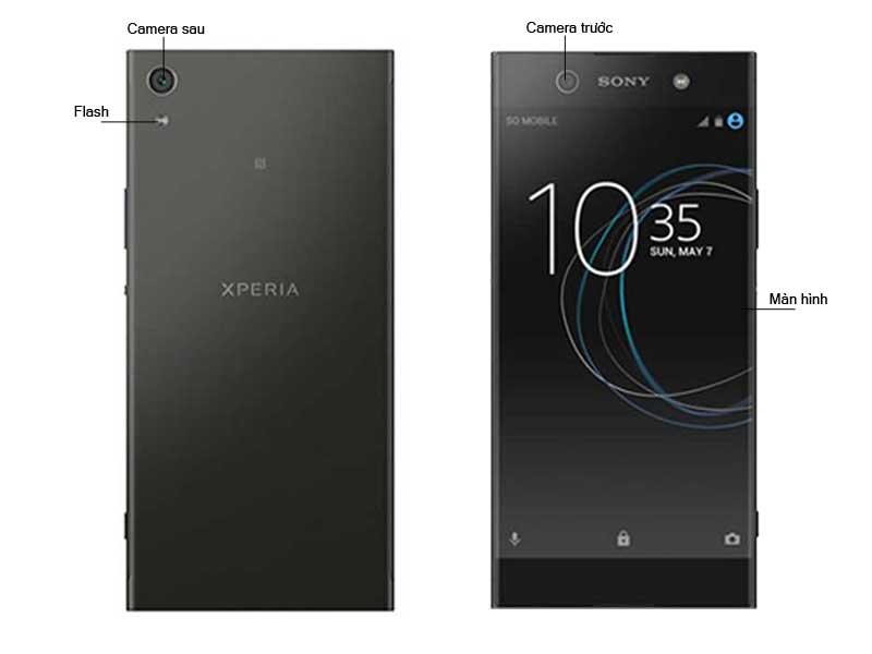 Sony Xperia XA1 Ultra - Màu Đen