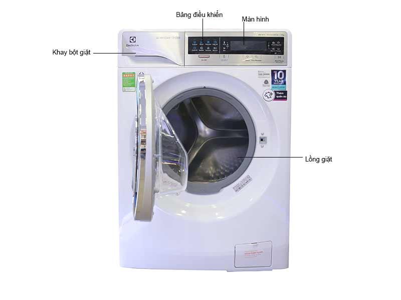 Máy Giặt Sấy Electrolux EWW14113VN Inverter Giặt 11 Kg Sấy 7 Kg