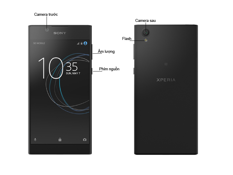 Sony Xperia L1 - Màu Đen