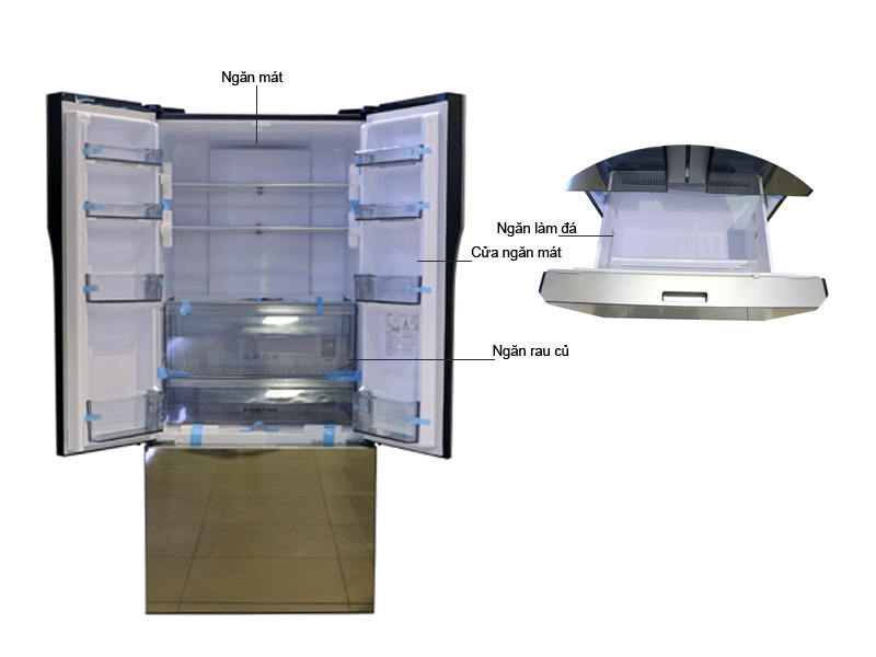 Tủ lạnh Panasonic NR-CY558GXVN 491 Lít Inverter