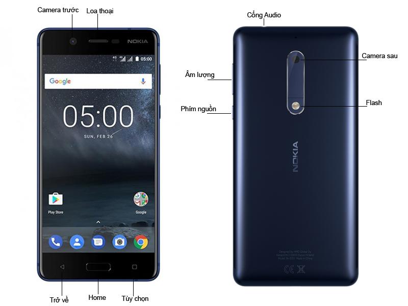 Điện Thoại Nokia 5 - Màu Xanh NK1053BL
