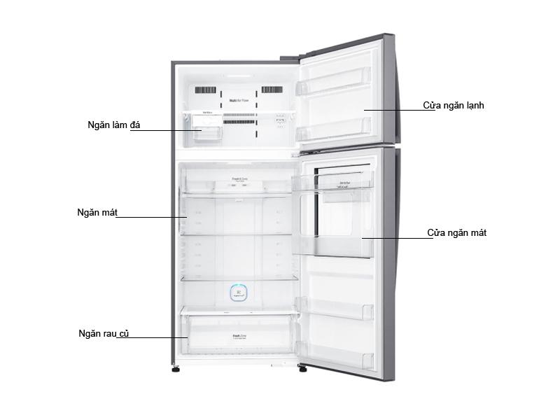 Tủ lạnh LG GN-L702SD 512 Lít Inverter