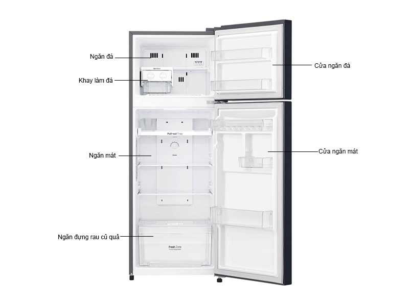Tủ Lạnh LG 208 Lít GN-L208PN.ACPPEVN Inverter