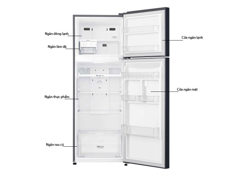 Tủ lạnh LG GN-L315PN 315 Lít Inverter