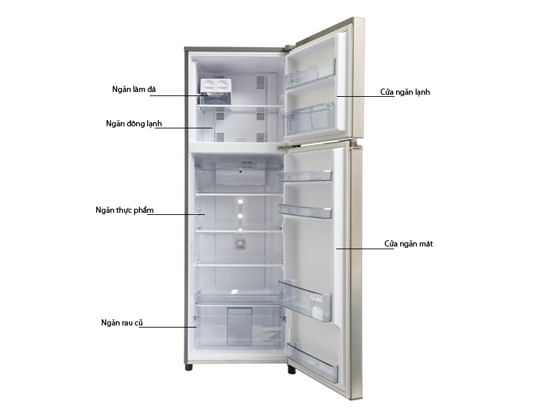 Tủ lạnh Panasonic NR-BL348PSVN 303 Lít Inverter