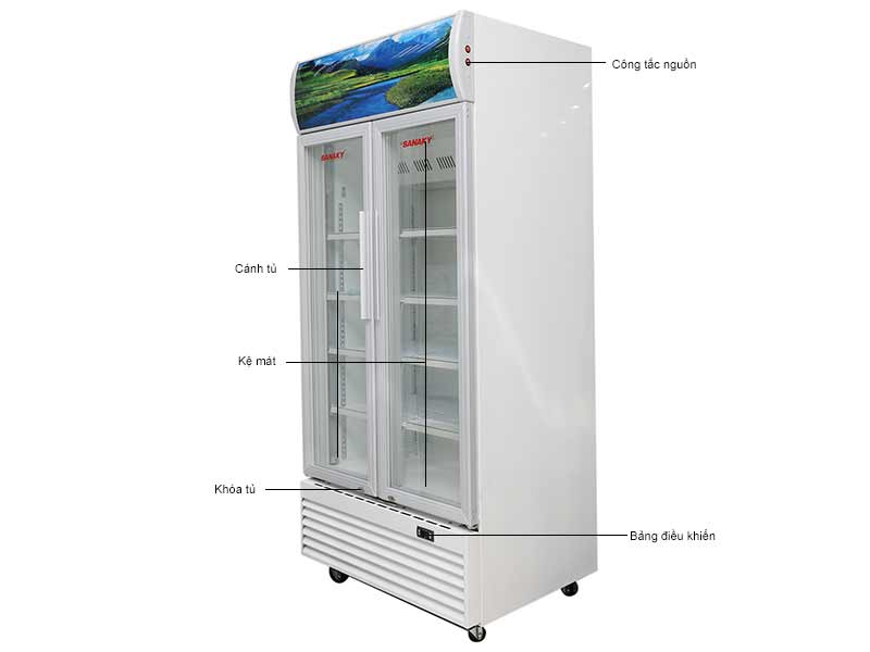 Tủ Mát Sanaky VH6009HP