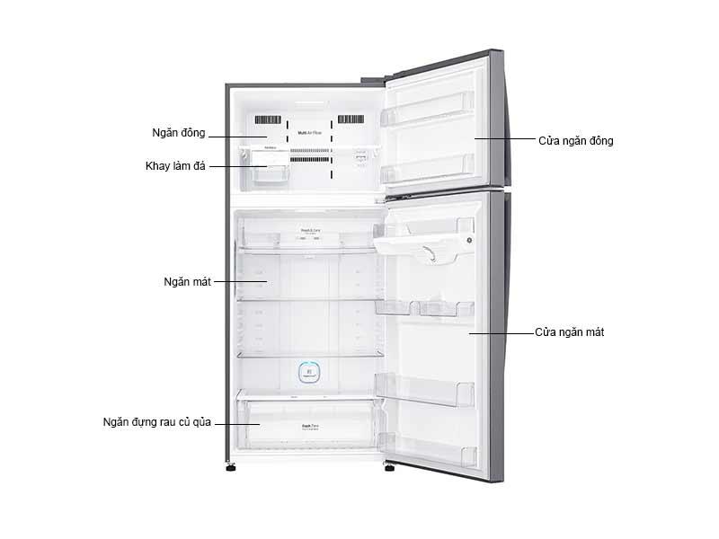 Tủ lạnh LG GNL702S 512 Lít Inverter