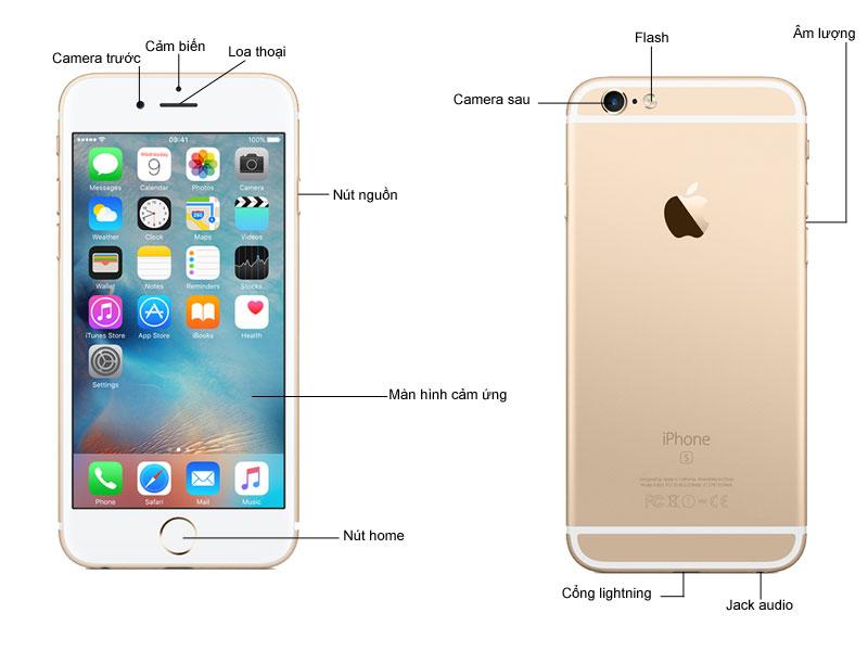 iPhone 6 Plus 16GB - Màu Gold MGAA2