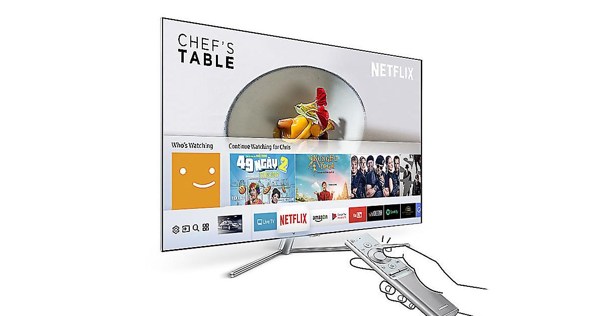 Tivi Samsung smart hub