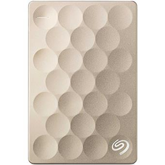 Ổ Cứng di động Seagate® Ultra Backup Plus Slim 1TB Gold