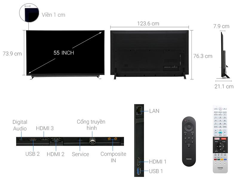 Tivi Led Toshiba 49 Inch 4K Ultra HD 49U7750