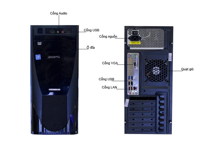 Máy tính để bàn SingPC M39055
